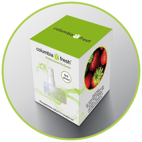 Rezervă odorizant Căpșuni ⋆ Columbia Fresh ⋆ Odorizante Profesionale ⋆ Sistem Odorizare ⋆ Sistem Parfumare ⋆ Odorizant Camera ⋆ Odorizante pentru Birou
